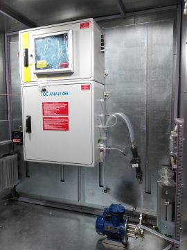 Automatic waste water discharge control system