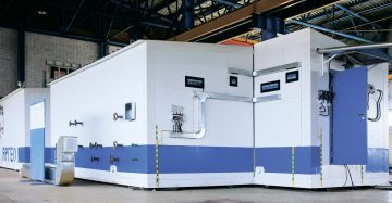 Modular units and process equipment