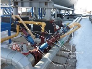 Block unit of oil desalting