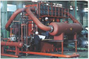 Piston compressor units