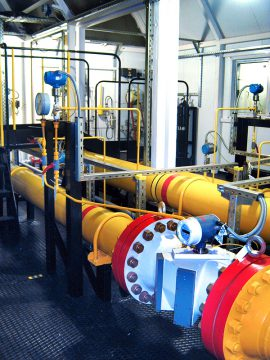 Gas quantity and quality parameters metering system
